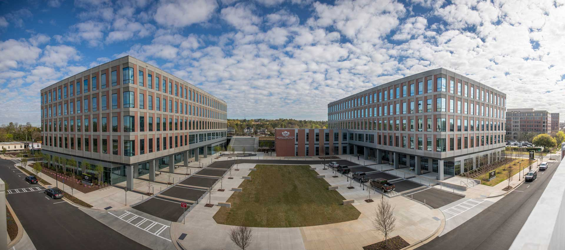 Cyber Center Campus Panorama