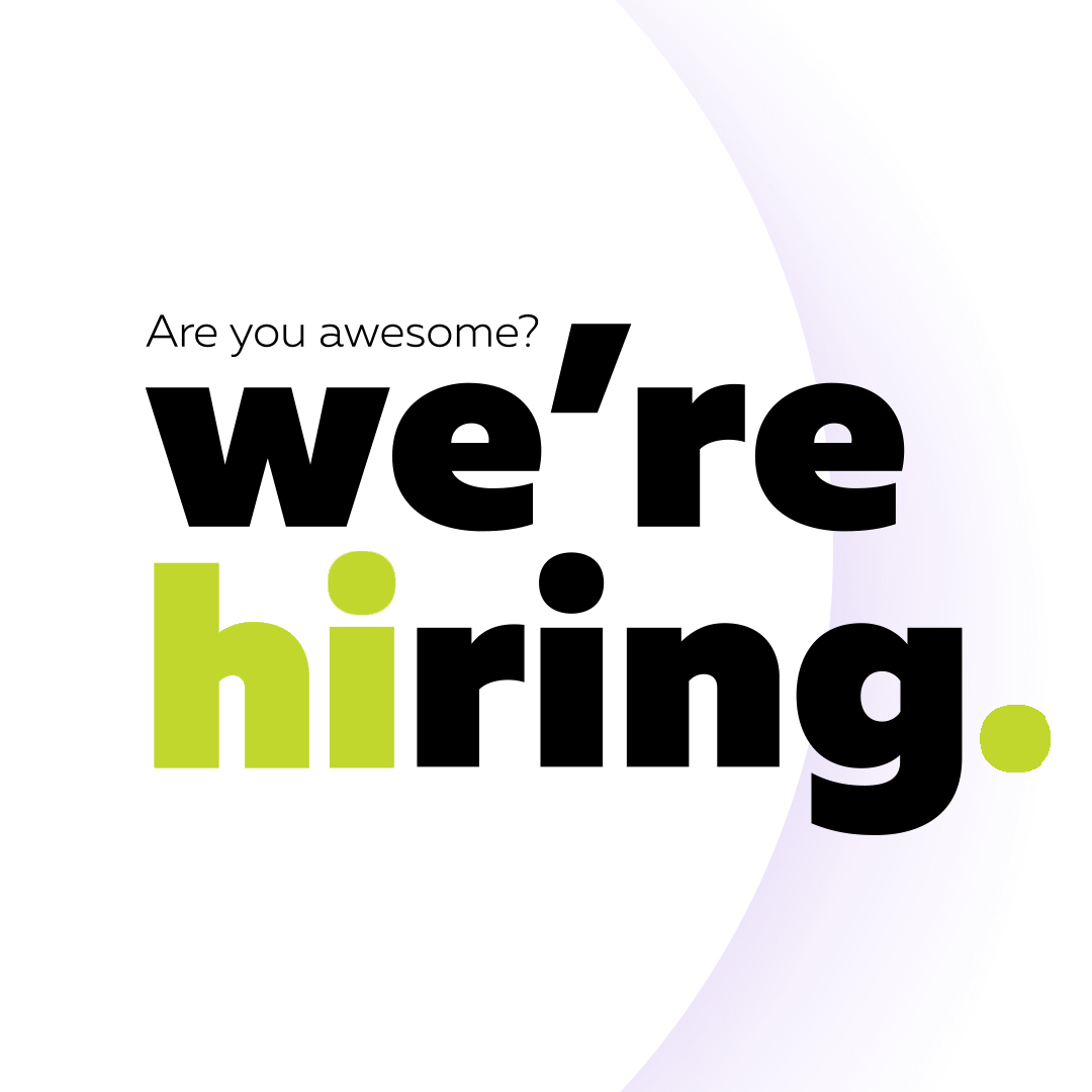 are you awesome we are hiring