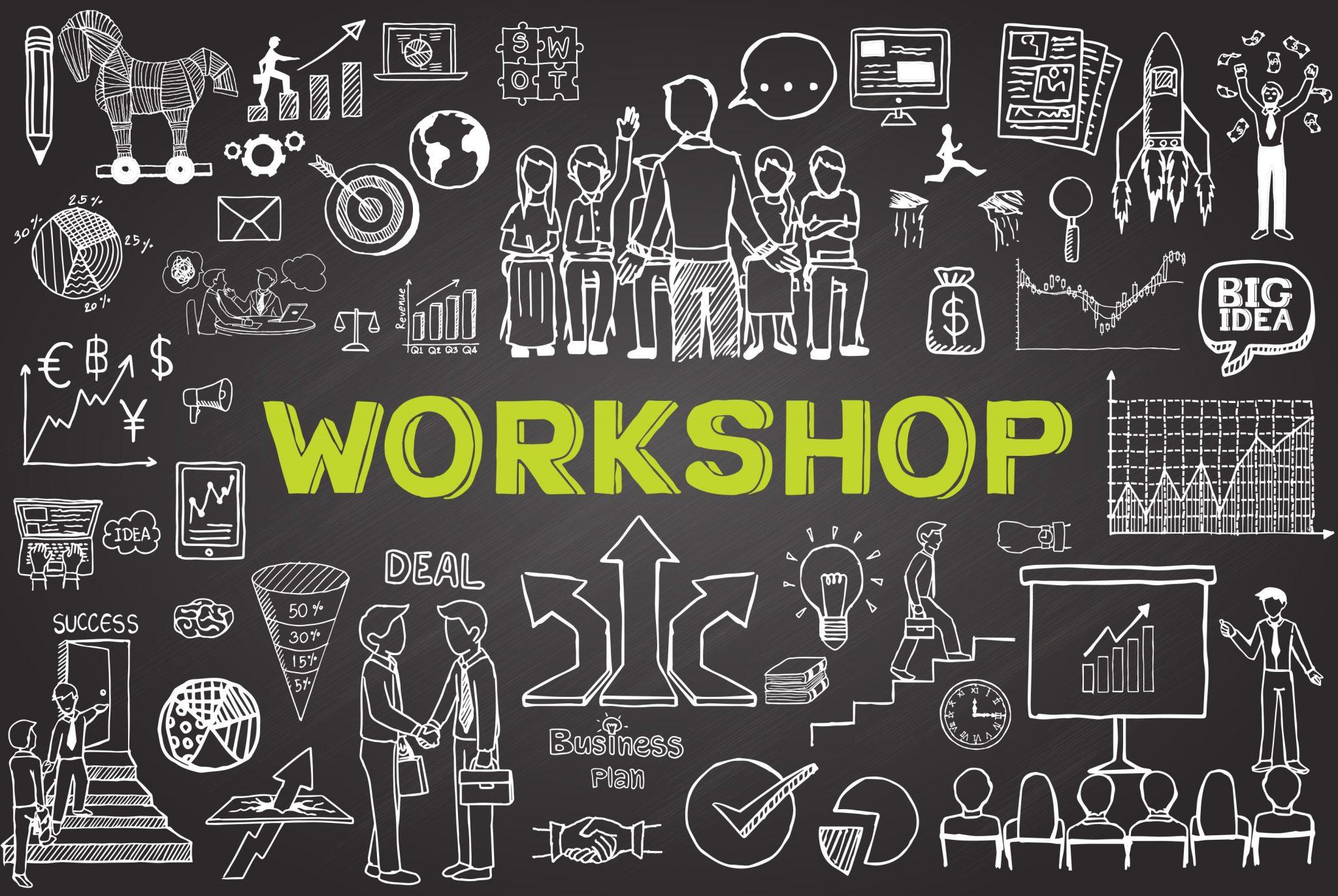 chalkboard doodle workshop 85499743 GCC green