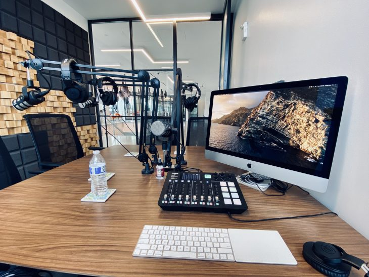 Other Duties as Assigned Podcast Studio